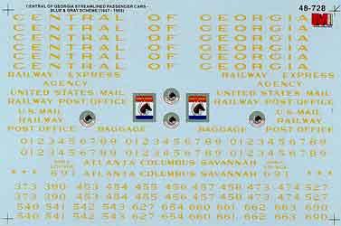 Microscale 48728 O CG Strmlnd Pass Cr Bl/Gry 460-48728