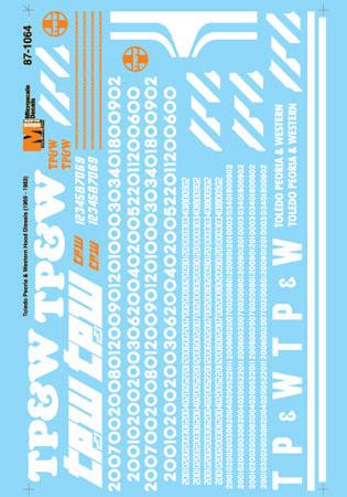 MSI601064 Microscale Inc N TP&W Hood Diesels 1969-83 460-601064