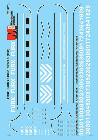 MSI601117 Microscale Inc N FURX Leasing Diesels 460-601117