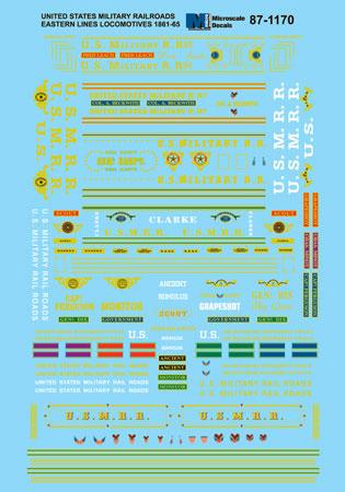 MSI601170 Microscale Inc N US Military Steam Loco 460-601170