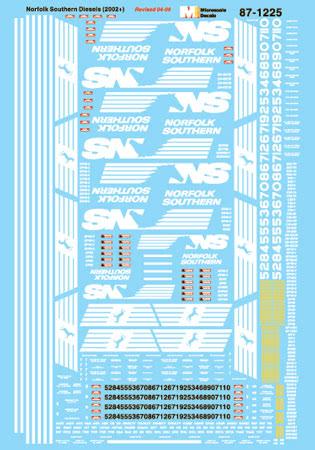 MSI601225 Microscale Inc N NS Diesel Cars 2002+ 460-601225
