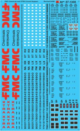 MSI601308 Microscale Inc N FMC Chem XTRA Covrd Hopps 460-601308