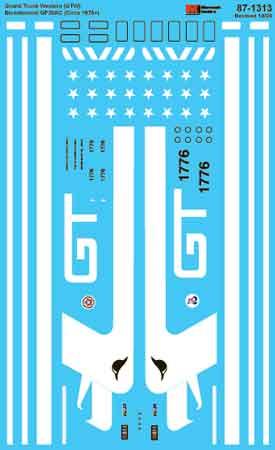MSI601313 Microscale Inc N GTW GP38AC Bicntnnl 1976+ 460-601313