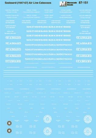 MSI60151 Microscale Inc N SAL Cabooses 460-60151