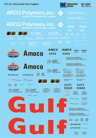 MSI60301 Microscale Inc N 55' 4Bay ACF Hop Ar/Gf/Am 460-60301