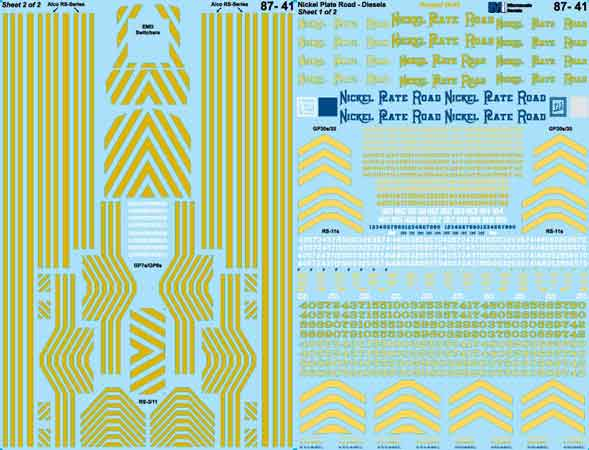 MSI6041 Microscale Inc N NKP hood & cab diesels 460-6041