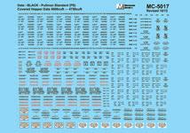 Microscale Decal N  #60-265 Union Pacific 100-ton Grain Hoppers Hopper 1970+